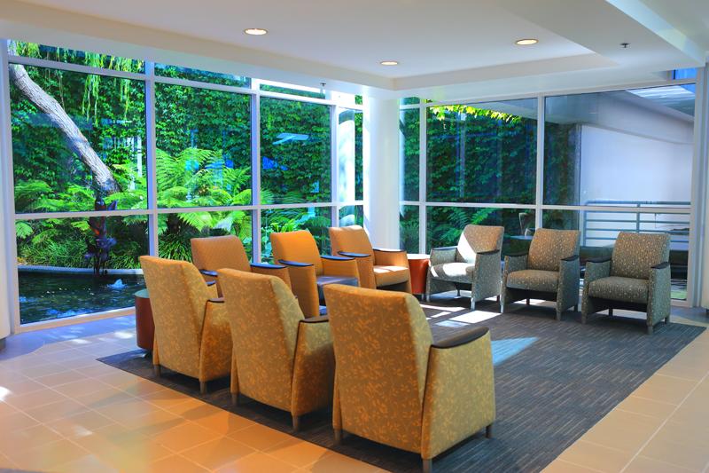 newport beach surgery center waiting area